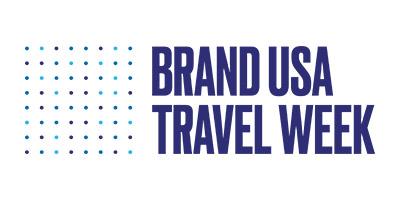 Official Brand USA Travel Week logo