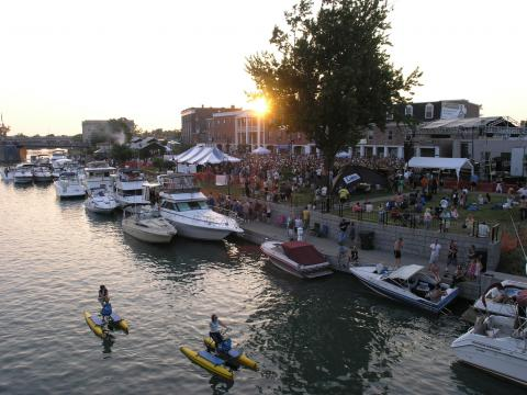 Fun on and off the water at the Canal Fest of the Tonawandas