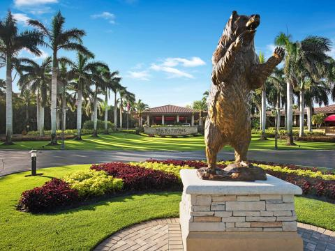 PGA National Golf Club, home of the Honda Classic golf tournament, in Palm Beach Gardens, Florida